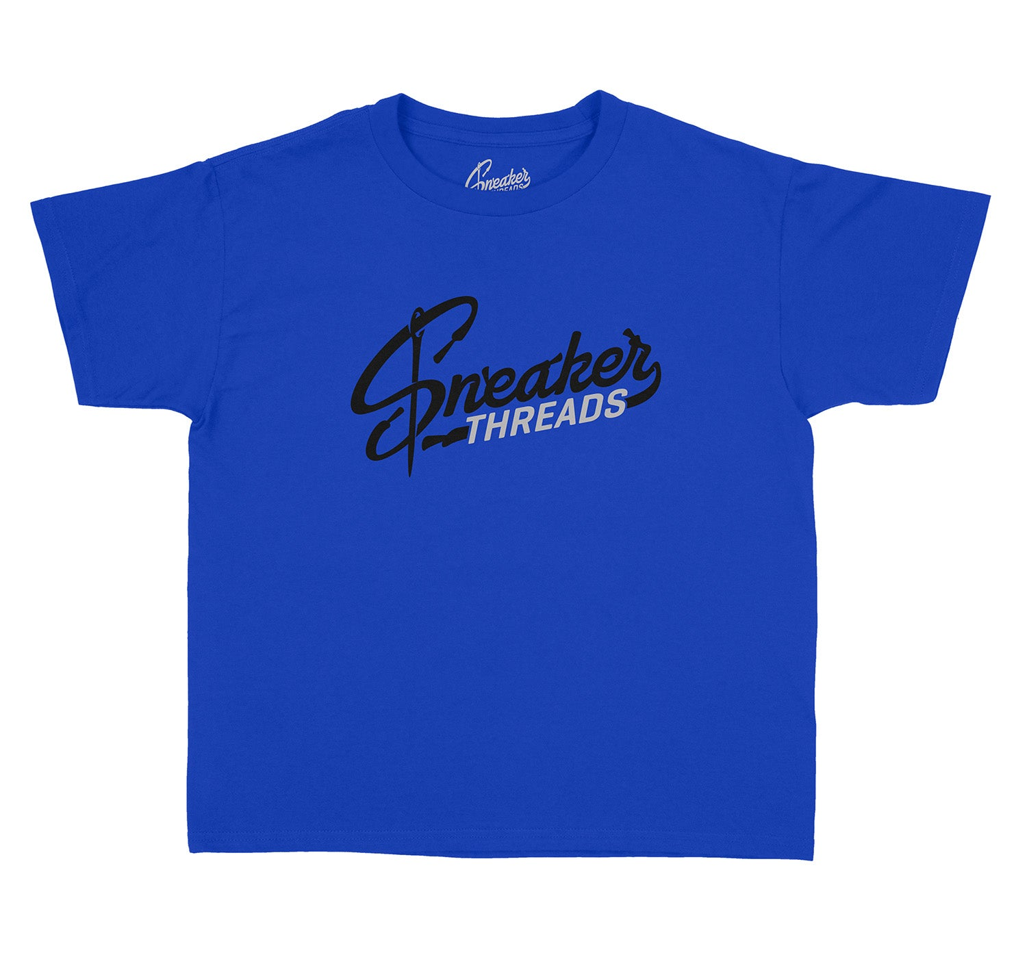 Sneaker Kids shirts matching with Jordan 12 royal game sneakers