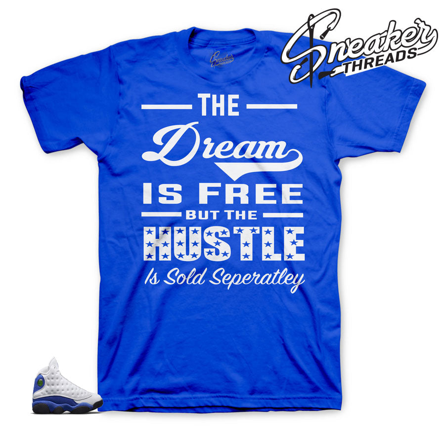 Sneaker tees Match sneakers | Hyper Royal 13 matching clothing.