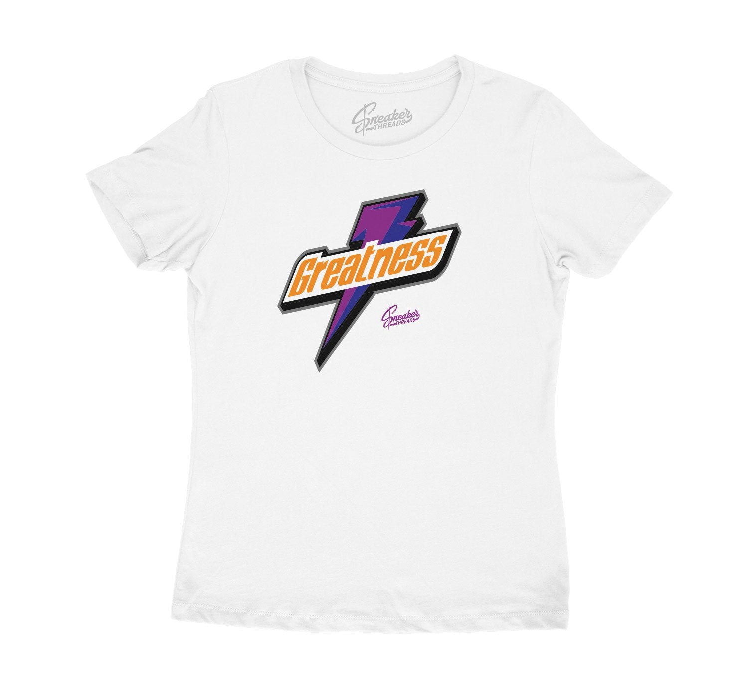 Sneaker Jordan 4 rush violet matching womens tee collection