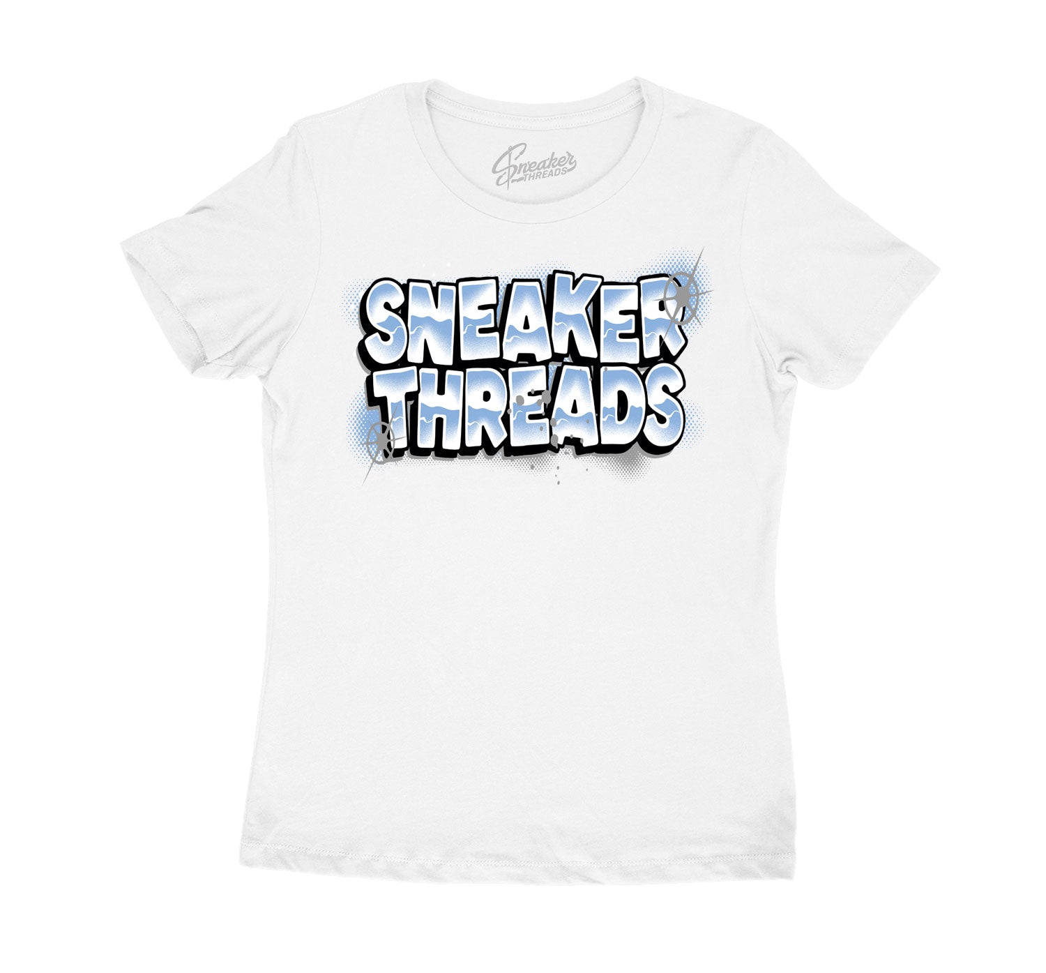Legend Blue Jordan 11 sneaker collection ladies tees