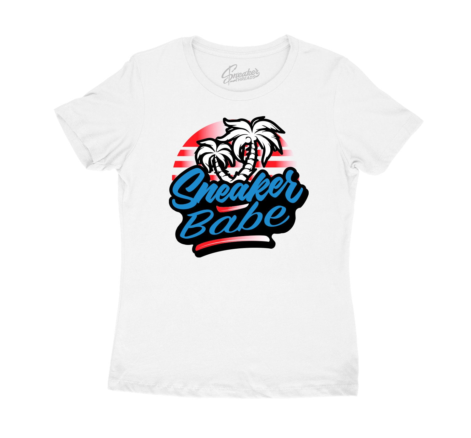 Womens - NC To CHI 1 Sneaker Babe Palms Shirt