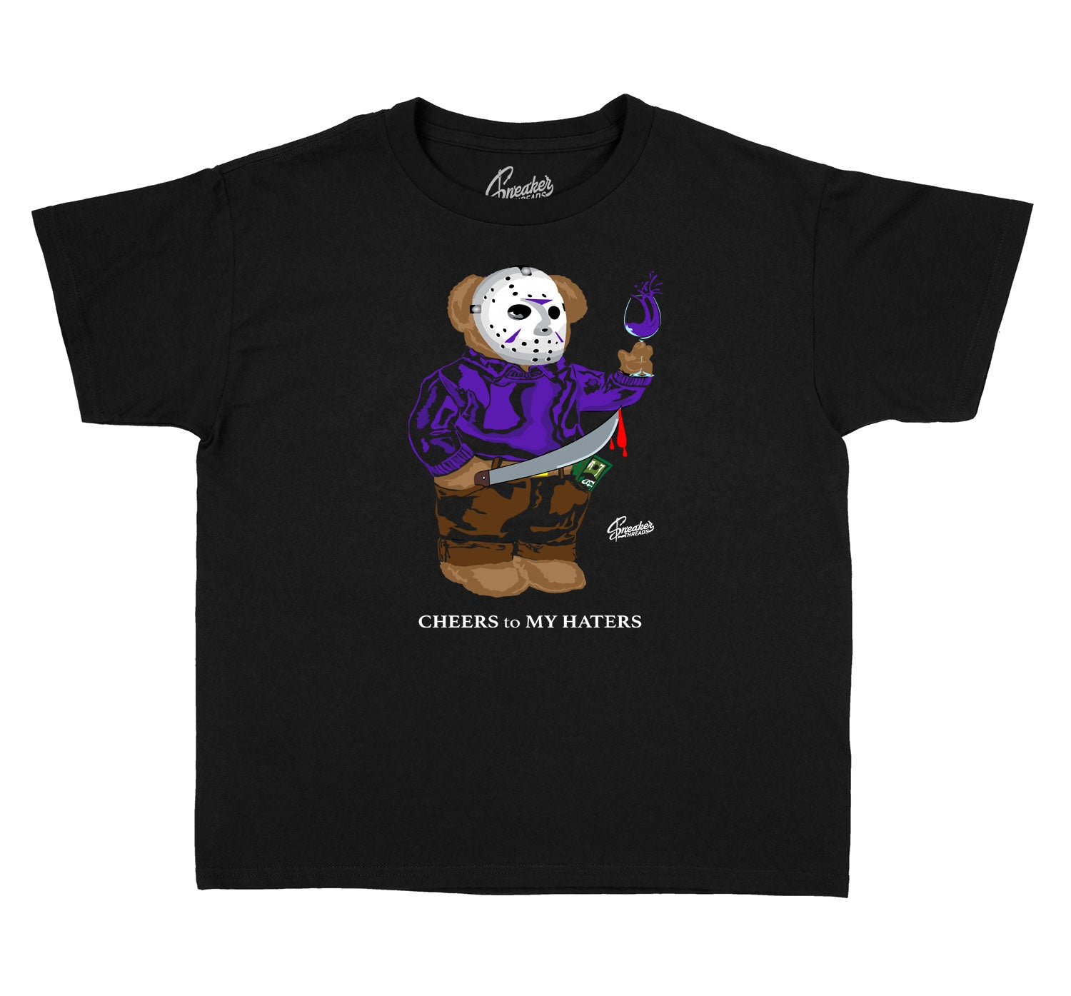 Kids - Dark Concord 12 Jason Bear Shirt