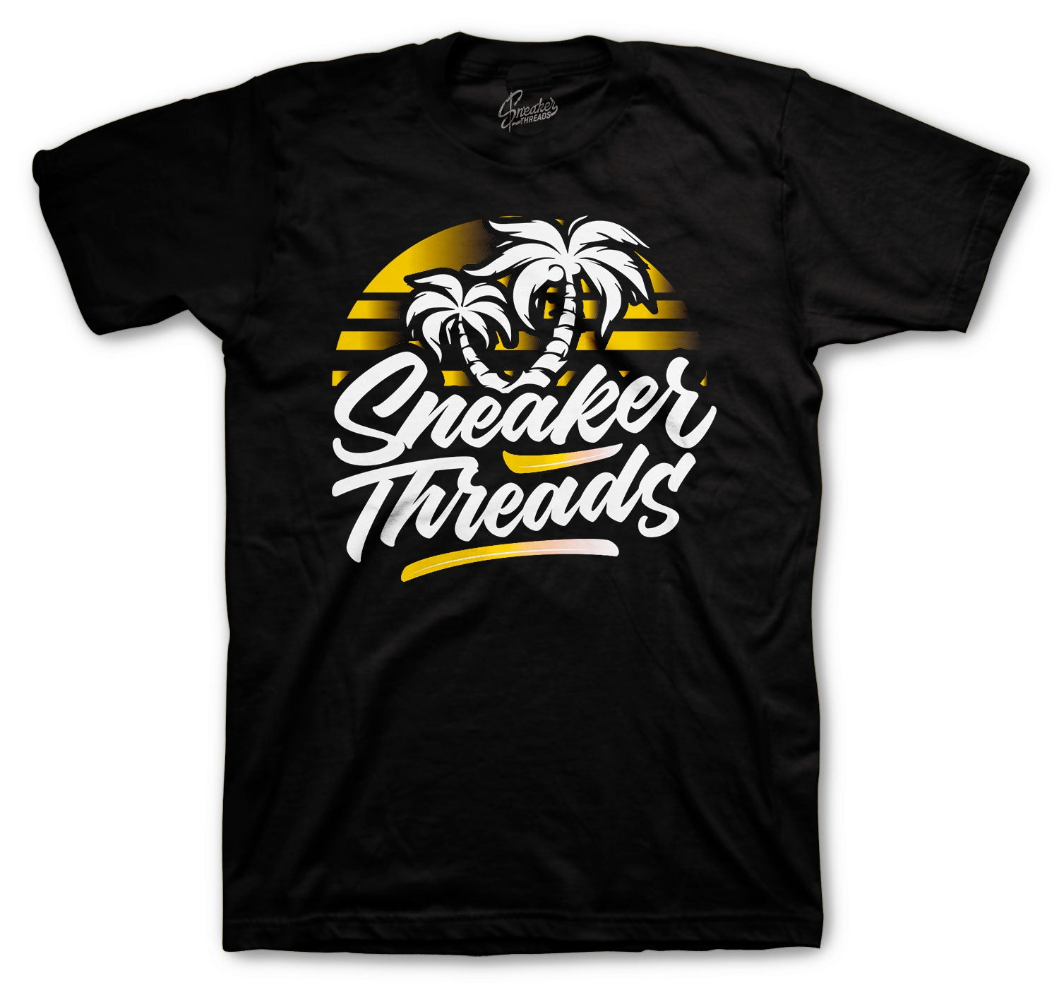 JOrdan 12 University Gold sneaker collection matching with mens t shirt collection