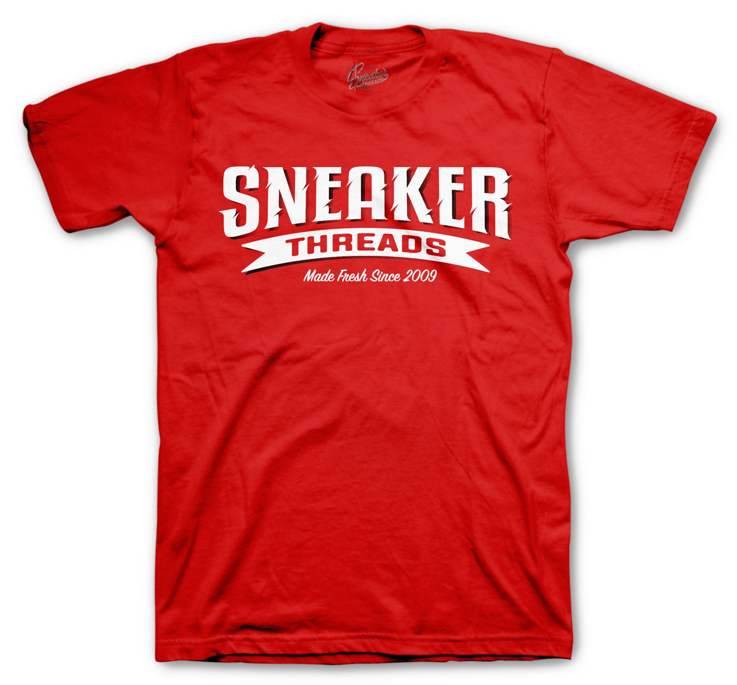 gym red Jordan sneaker have matching mens t shirt