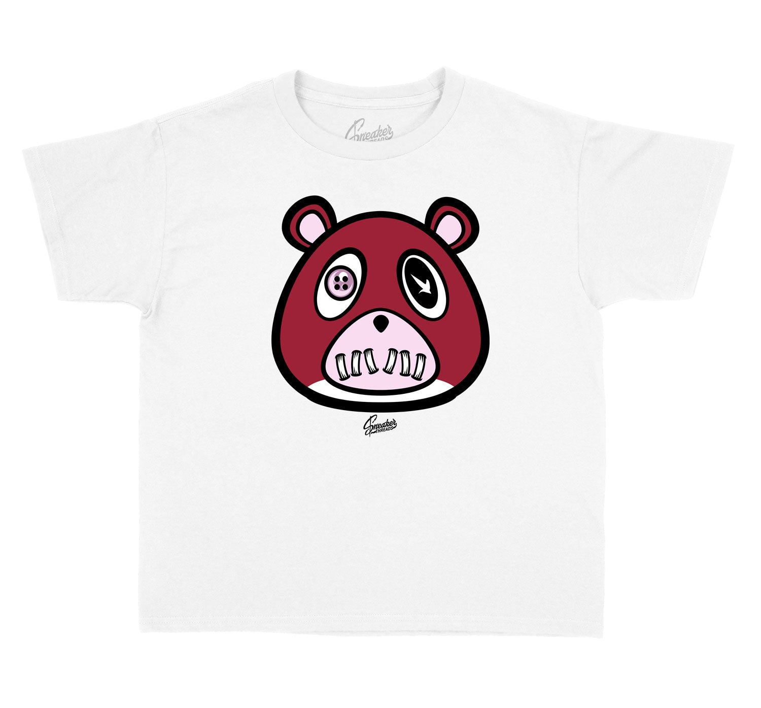 Kids - Pink Foam 5 ST Bear Shirt