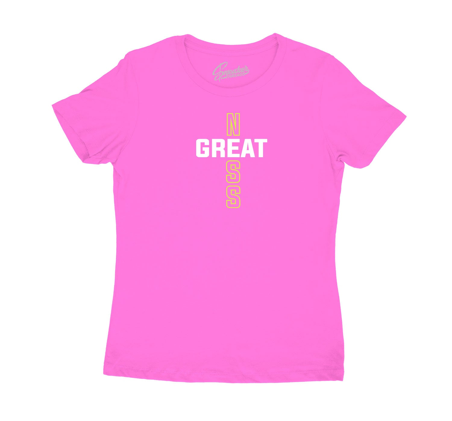 Shirt for girls match Jordan 4 lemon venom collection
