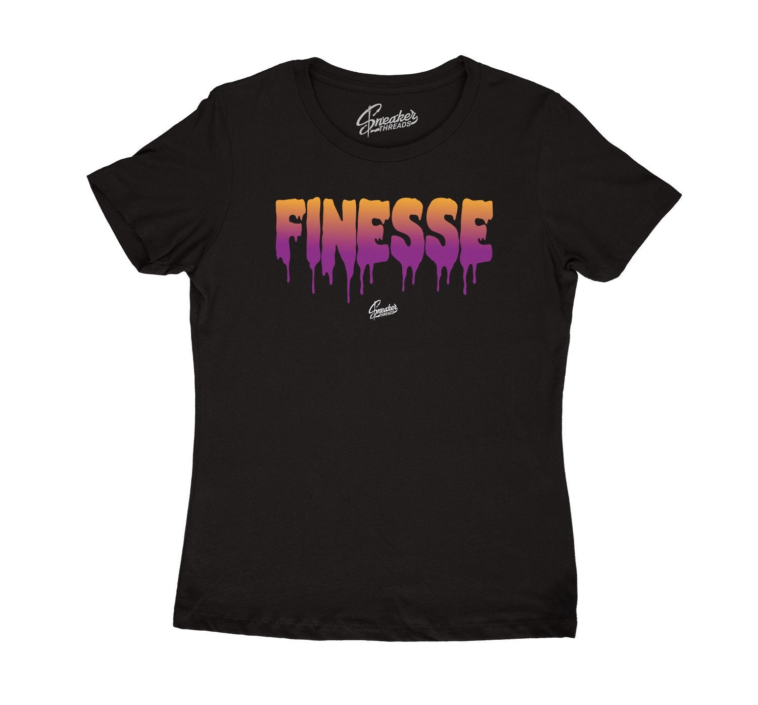 Collection of shirts designed for women match sneaker Jordan 4 rush violet