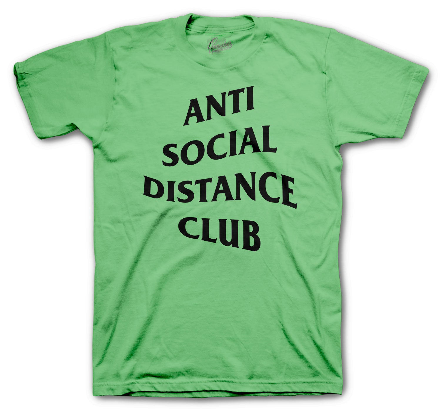 Jordan 1 Zen Green Social Distance Shirt