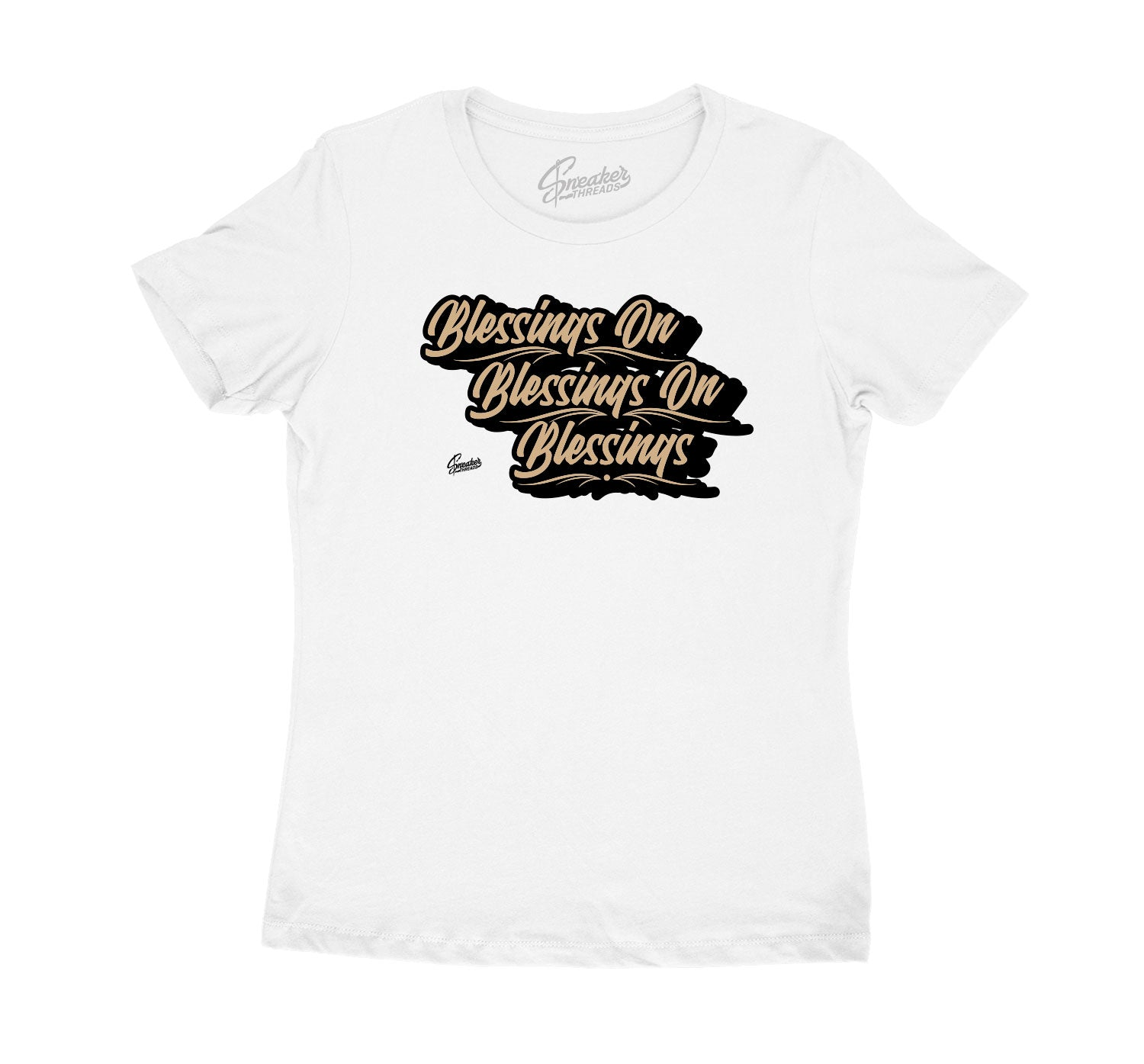 Jordan 4 fossil mushroom sneaker has matching collection of womens shirts