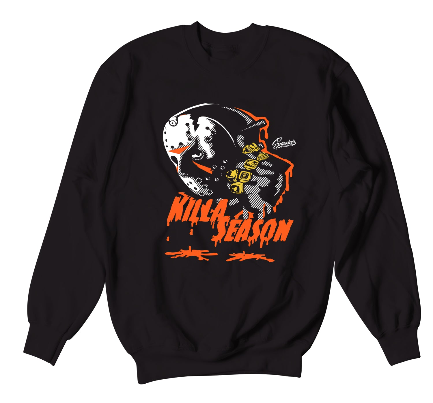 crewneck sweaters designed to match the nike foamposite sneakers