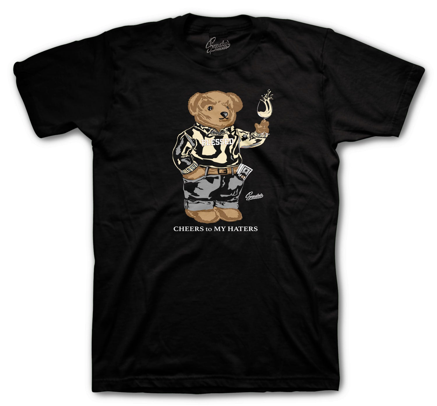 Yeezy Natural Cheers Bear Shirts