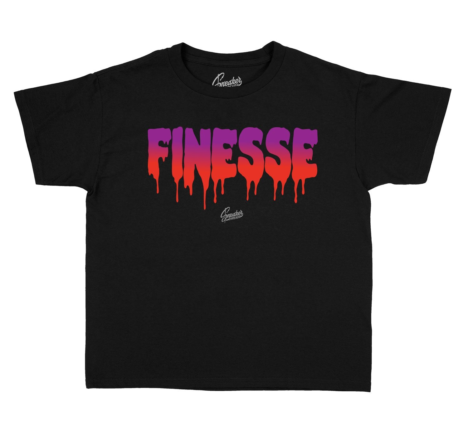 Jordan Kids Finesse shirt to match Black Gloss 7's