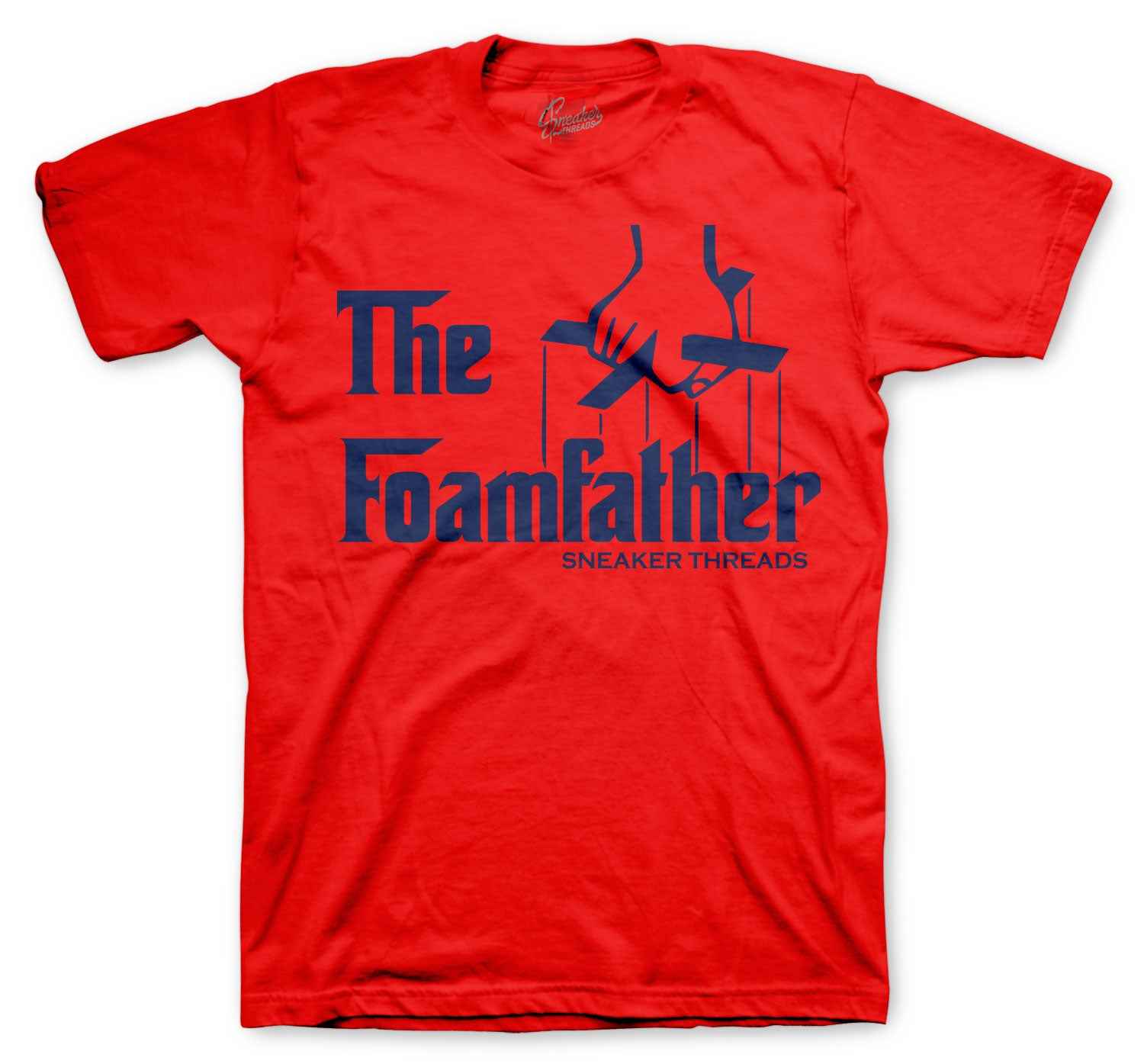 Foamposite Blue Foamfather Shirt
