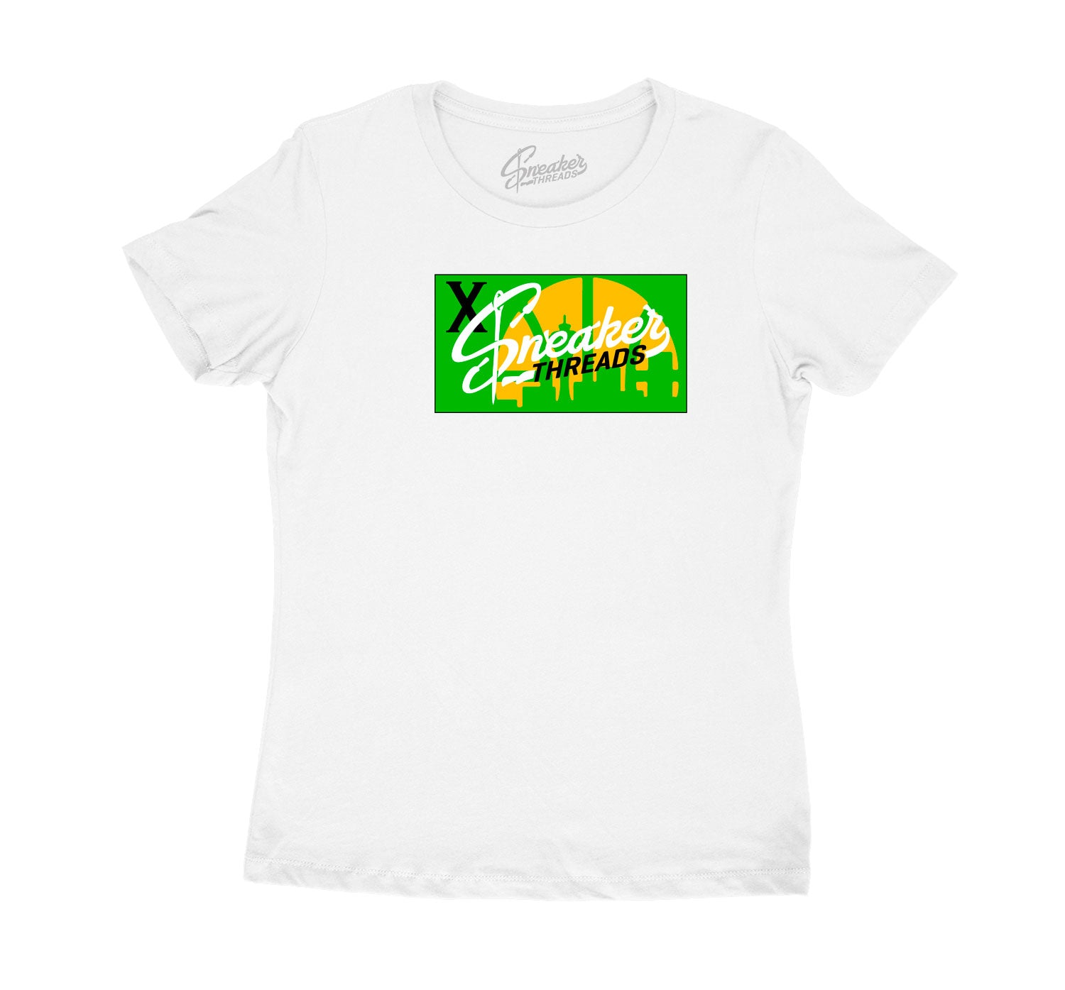 ladies shirt created to match the Seattle 10 sneakers perfect