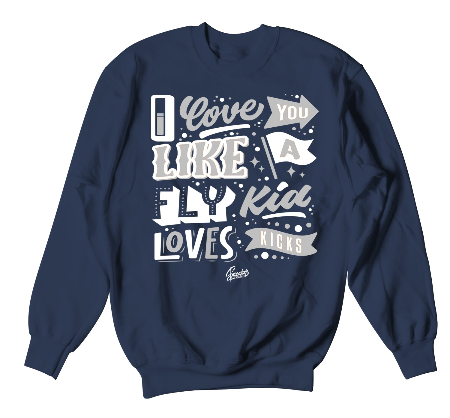 Sweat shirt collection to match the jordan 1 midnight navy sneaker collection