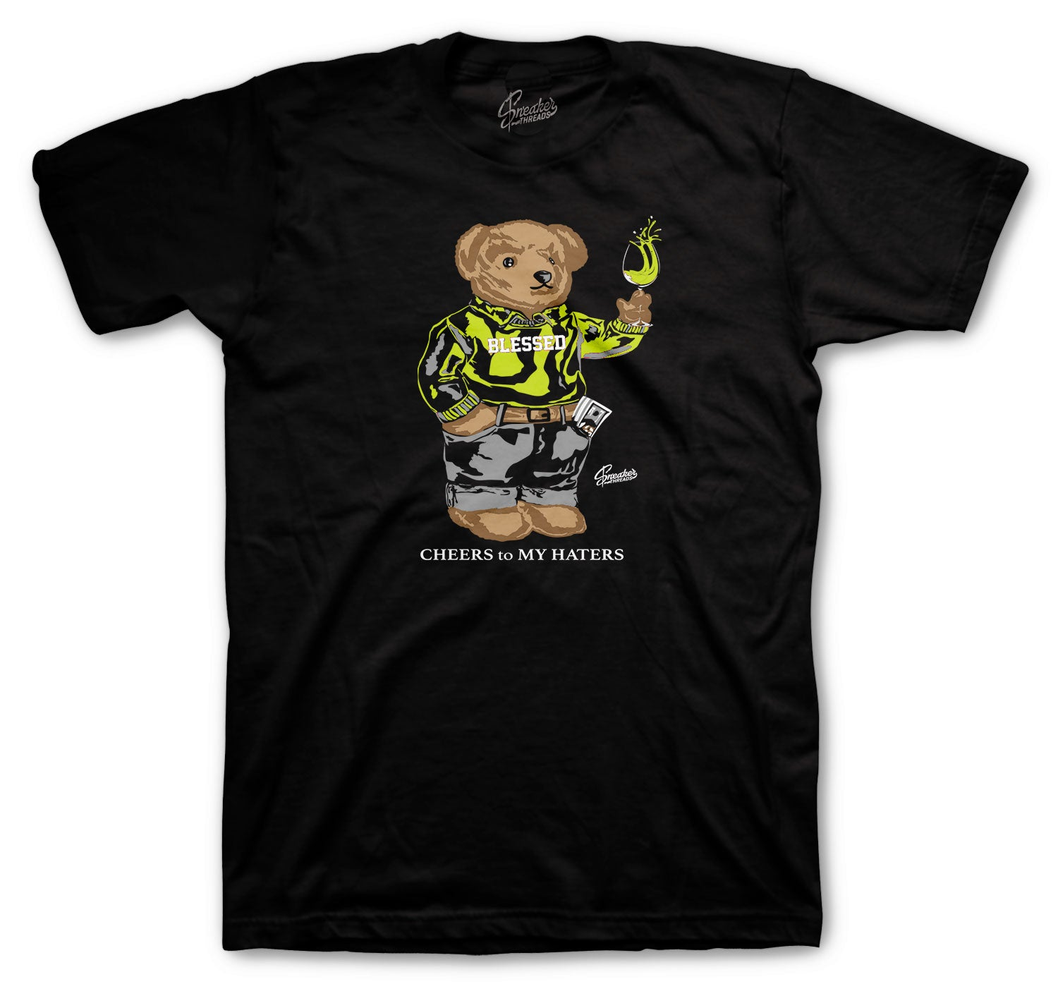Foamposite Volt Cheers Bear Shirt