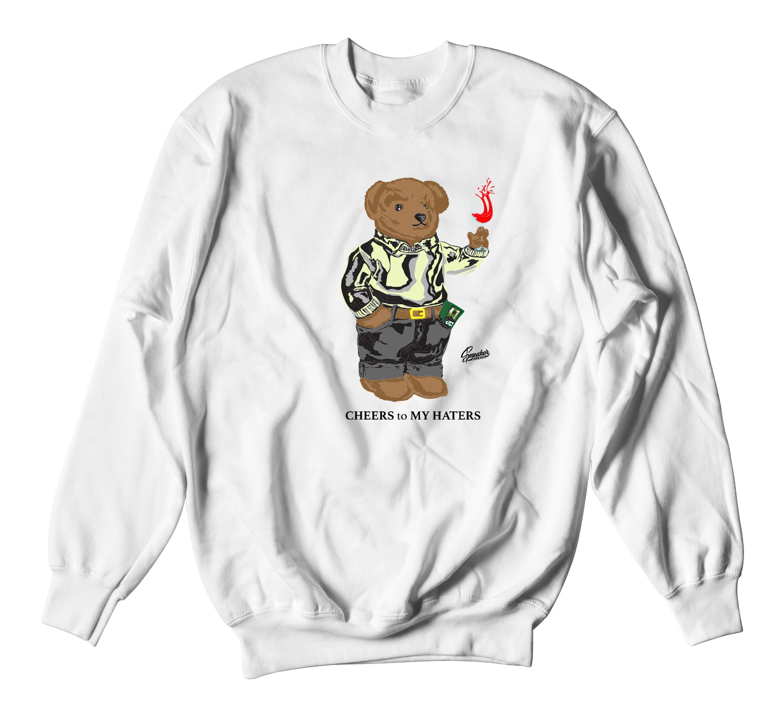 Yeezy Yeshaya Cheers Bear Sweater