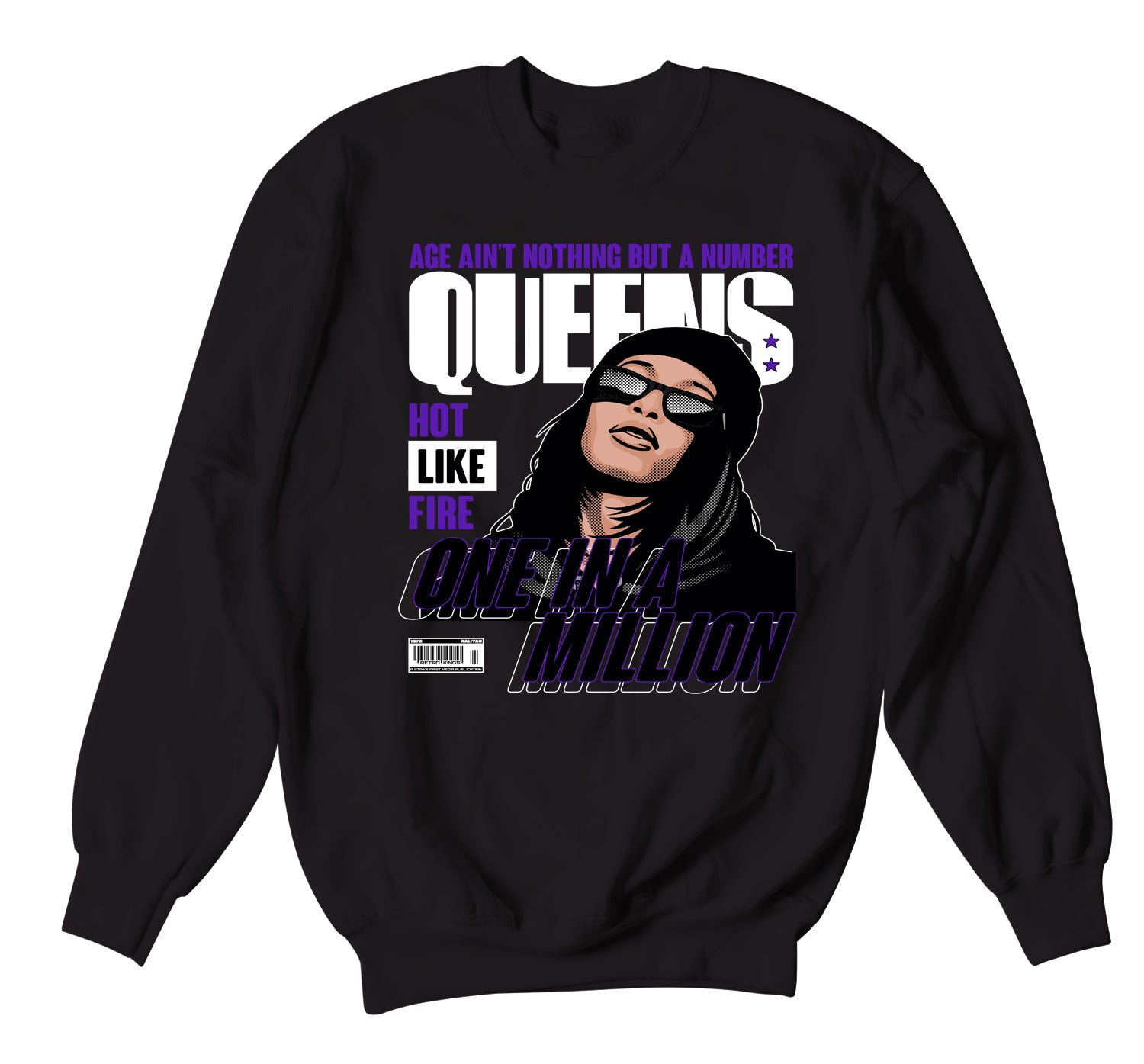 Jordan 12 Dark Concord Queens Sweater