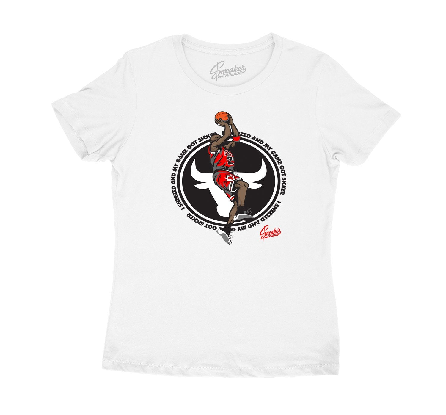 Womens jordan 12 dark grey sneaker tees match retro 12s shoes.