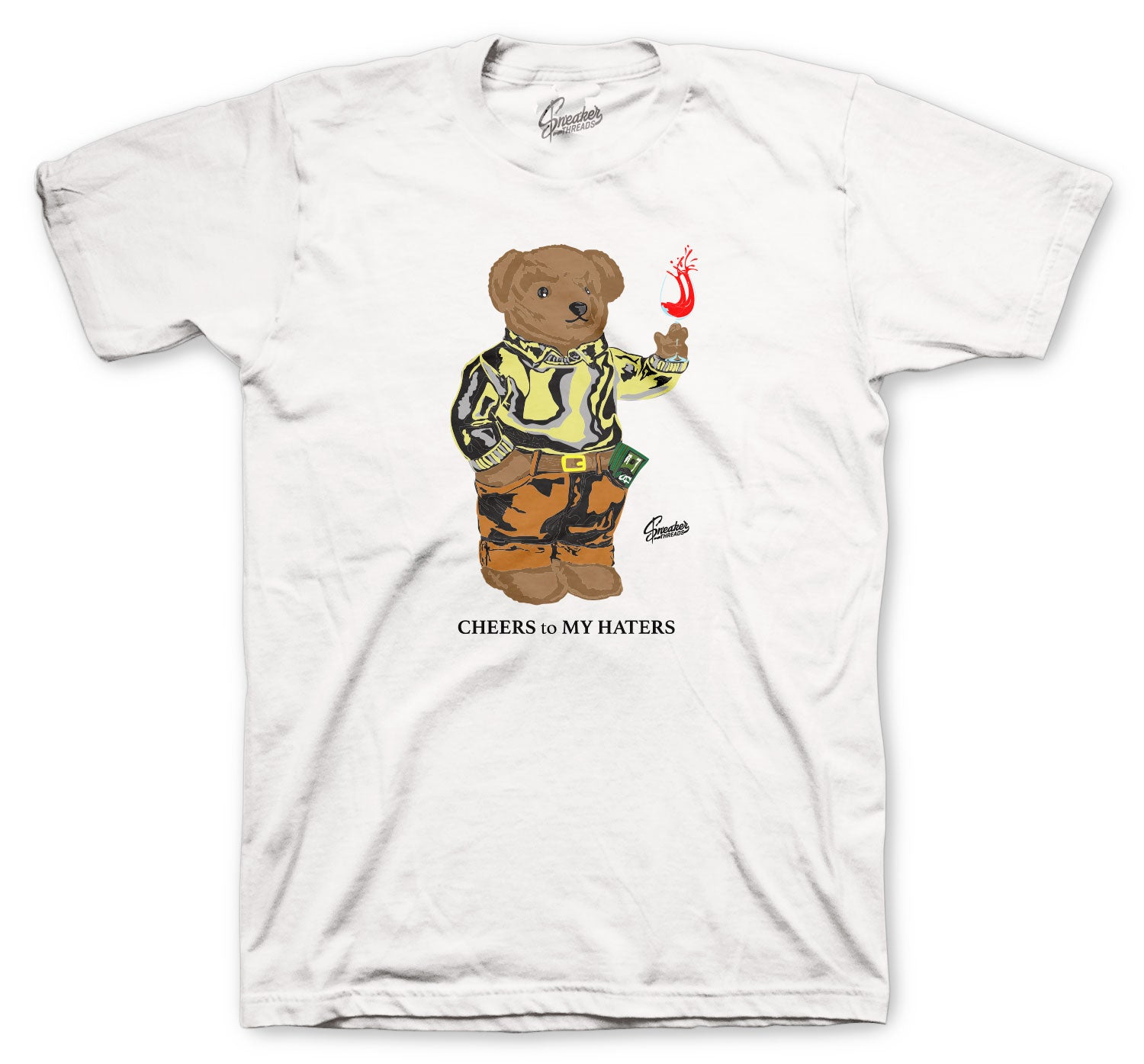 Yeezy Marsh Cheers Bear Shirts