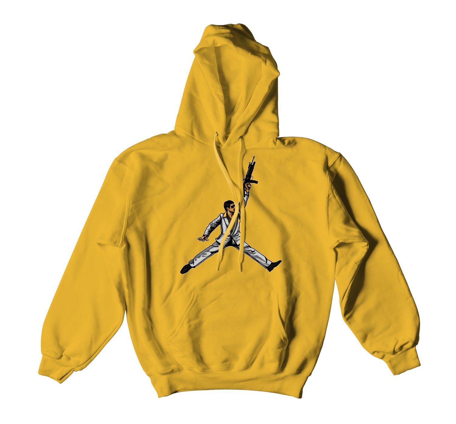 hoody to match Jordan 9 uni gold sneaker collection