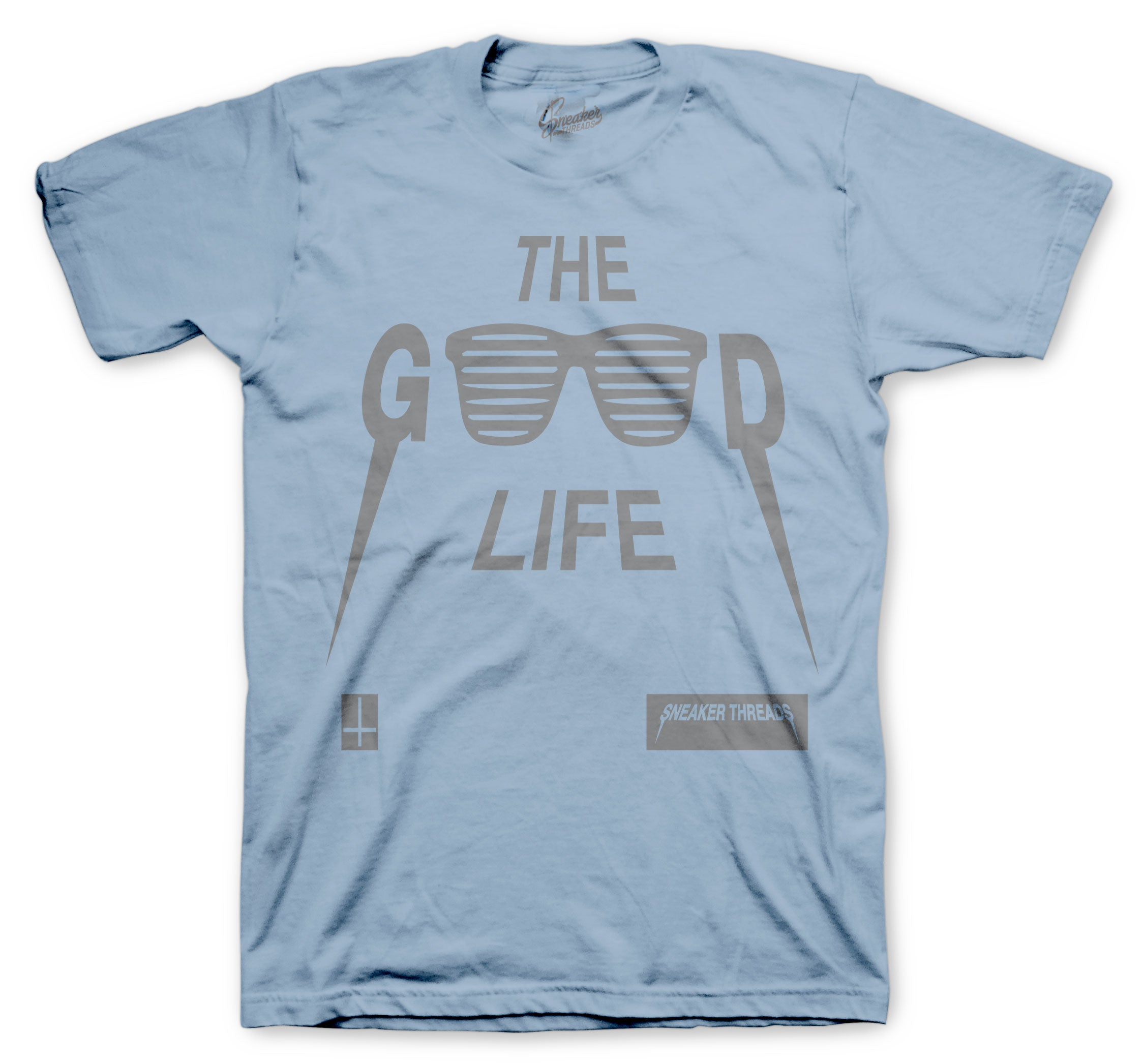 God Life shirt to match New Hospital Blue Yeezys