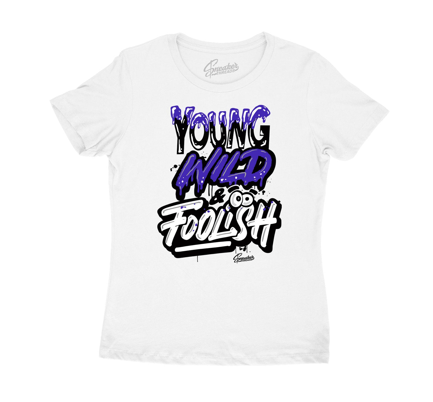 Womens - Purple Metallic 4 Young Wild Shirt