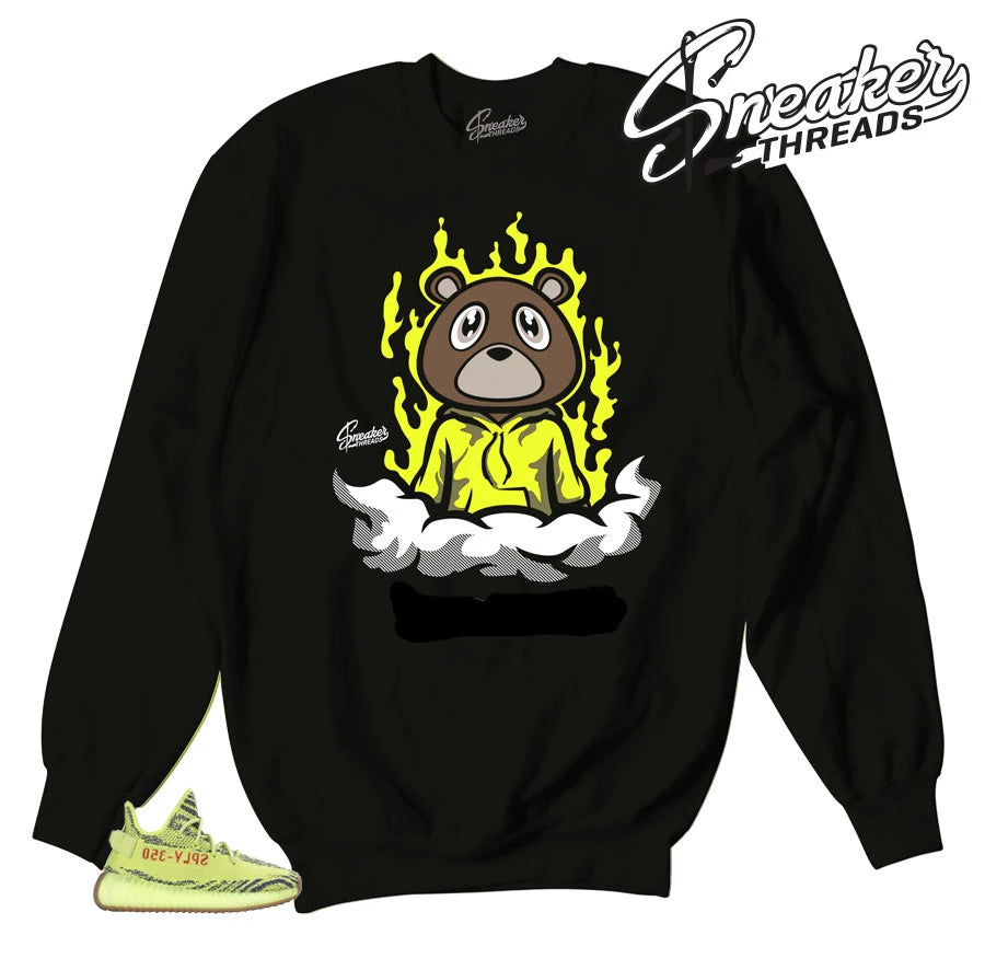 Frozen yellow yeezy sweatshirts match yeezy shoes | Sneaker sweaters.