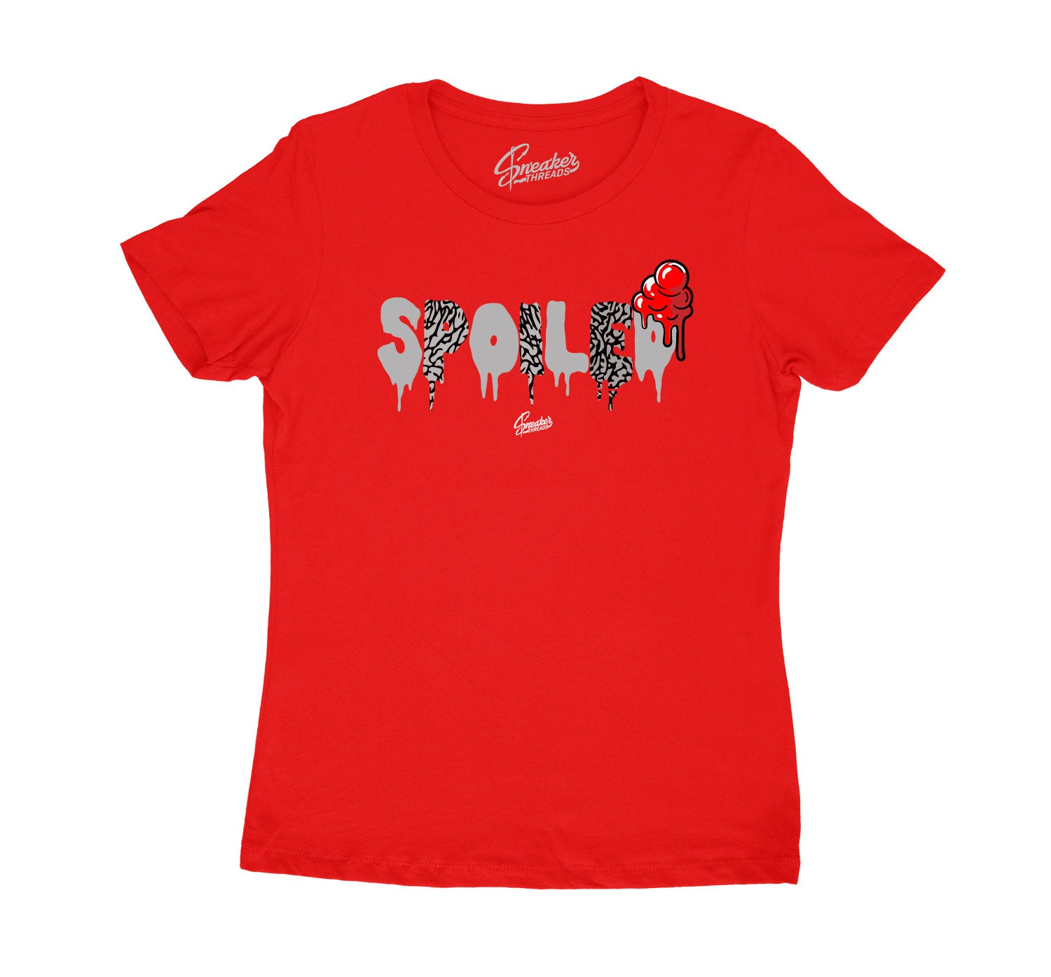 Womens - Red Cement 3 Spoiled Shirt