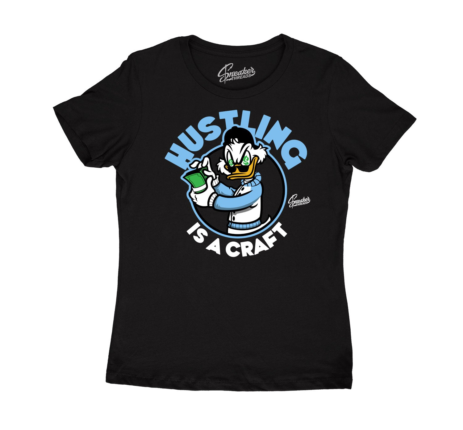 Womens - University Blue 9 Hustling Shirt