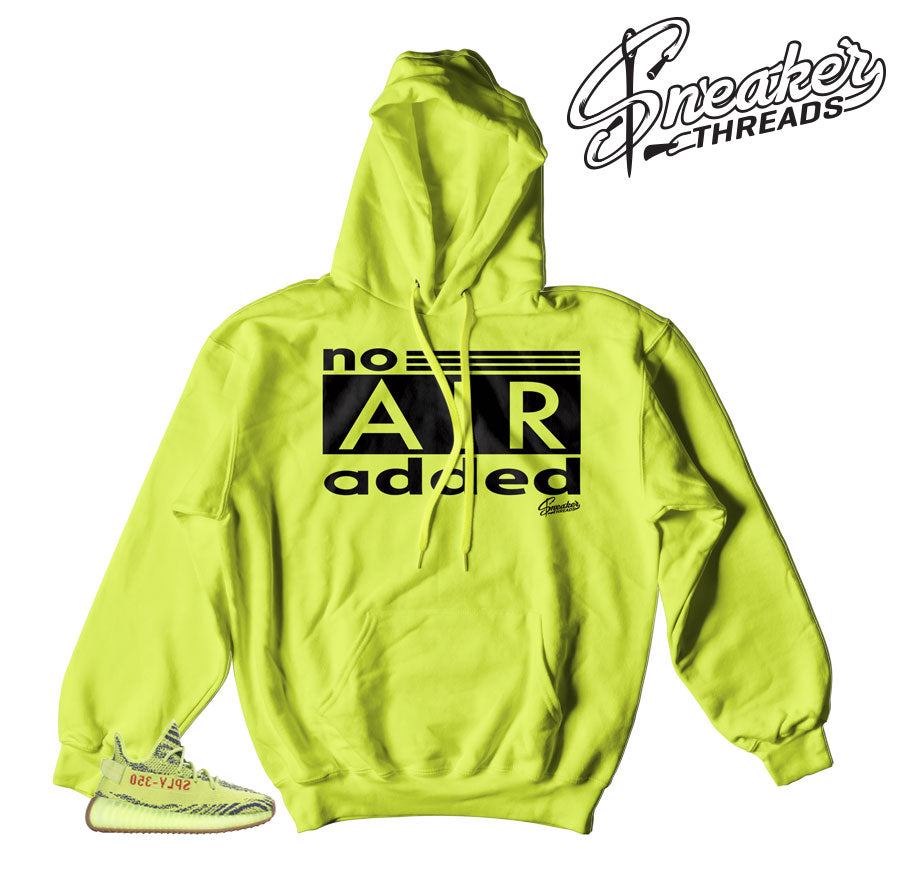 cute amazing selection pre order Yeezy Boost Frozen Yellow No Air Needed Hoody