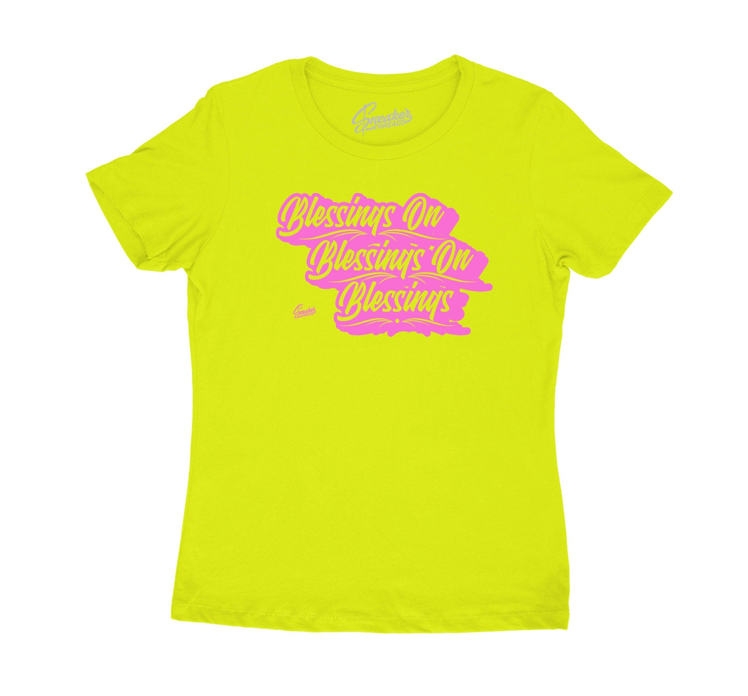 Lemon Venom 4s matching with womens tee collection