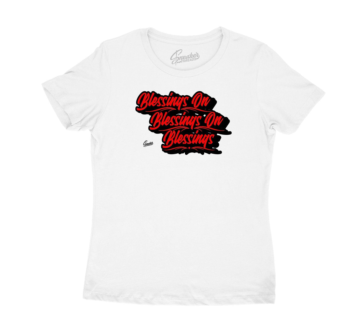 ladies shirts made to match the Jordan 11 retro bred sneakers