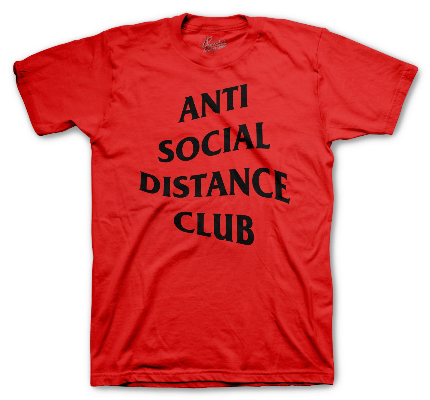 Jordan 4 Fire Red Social Distance Shirt