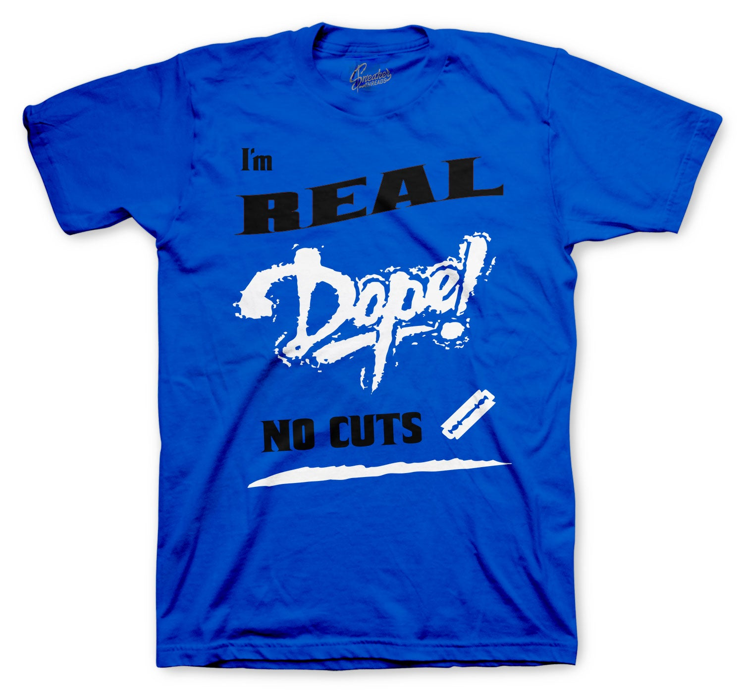 Jordan 14 Hyper Royal No Cuts Shirt