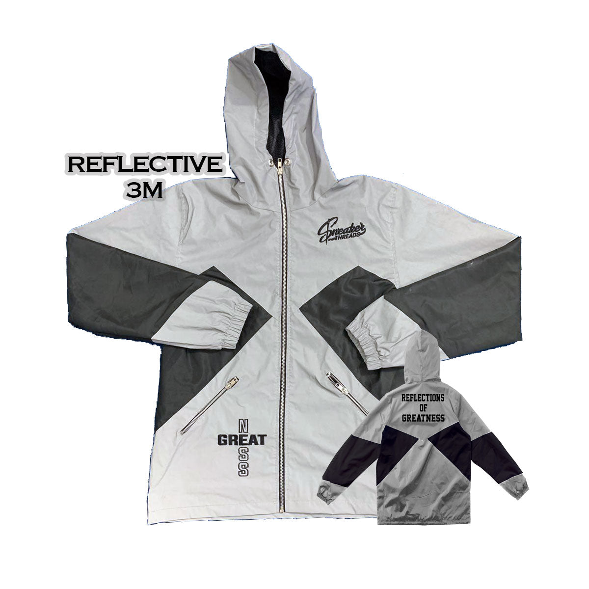 Sneaker Threads Reflective Windbreaker Jacket