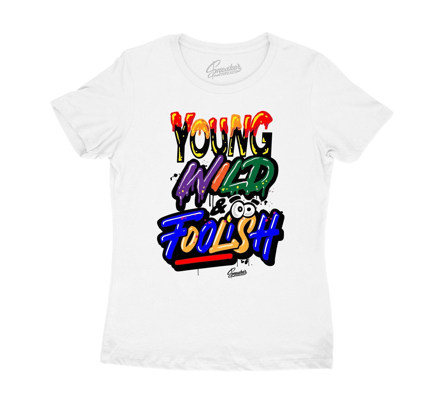 Womens tees collection matching the Jordan 2 multicolor sneakers