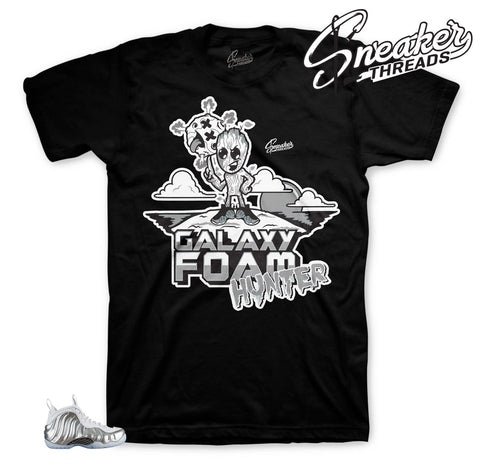 Foamposite chrome tees match foam | #1 foam sneaker tees store.