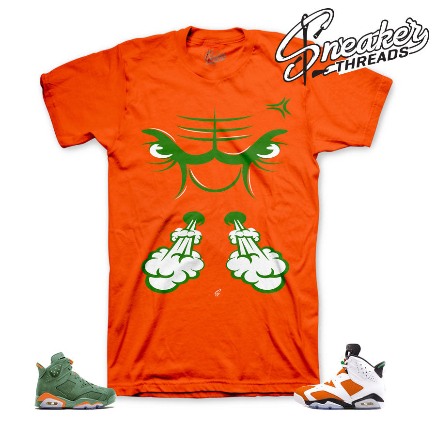 Jordan 6 gatorade shirts match retro 6 like mike shoes.