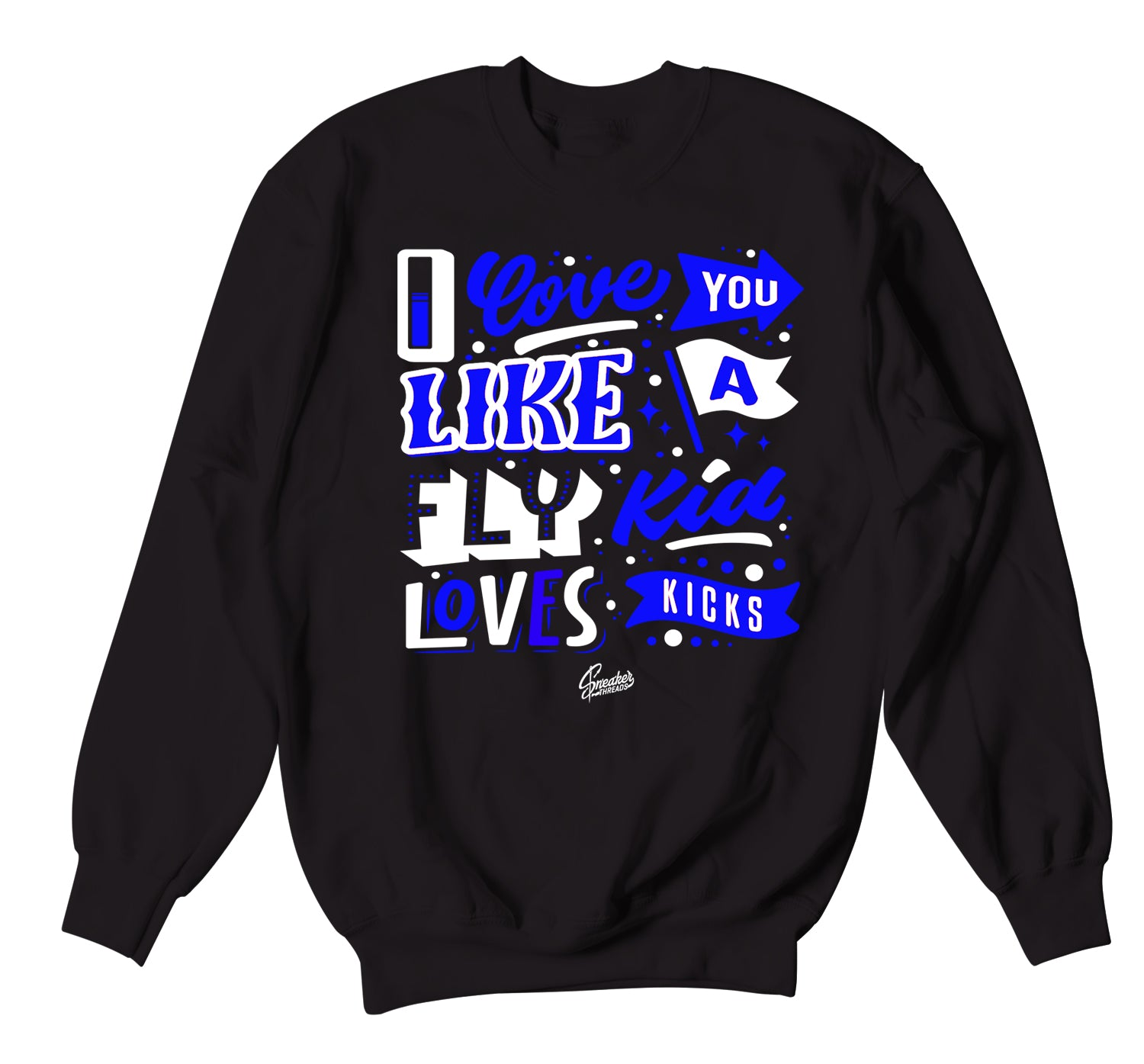 Air Max 90 Hyper Royal Love Kicks Sweater