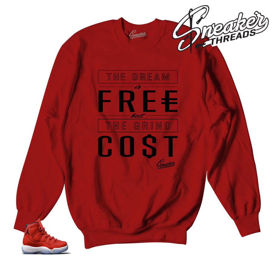 Jordan 11 win like 96 sweaters | Dream cost sweater.