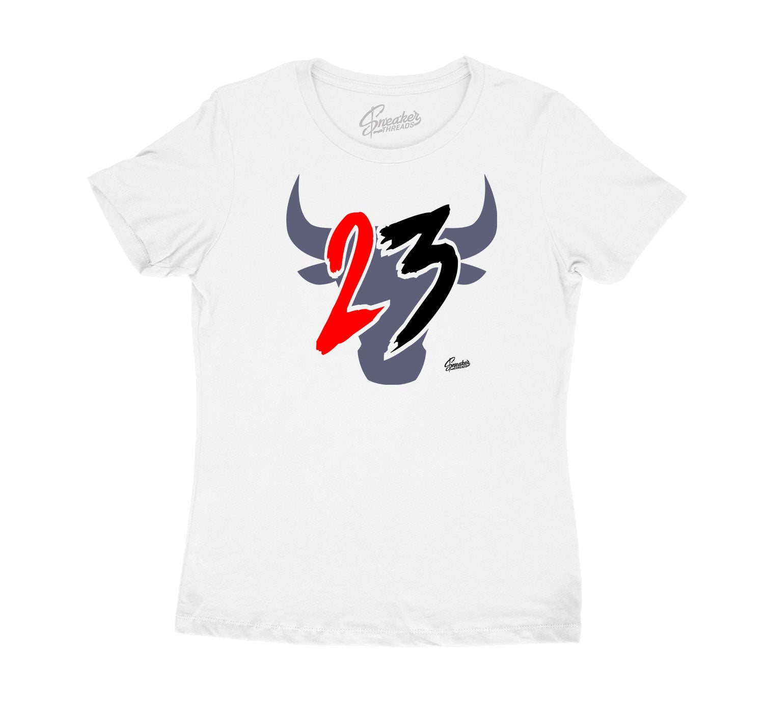 Jordan 3 Fire Denim Sneaker collection matches ladies tee collection