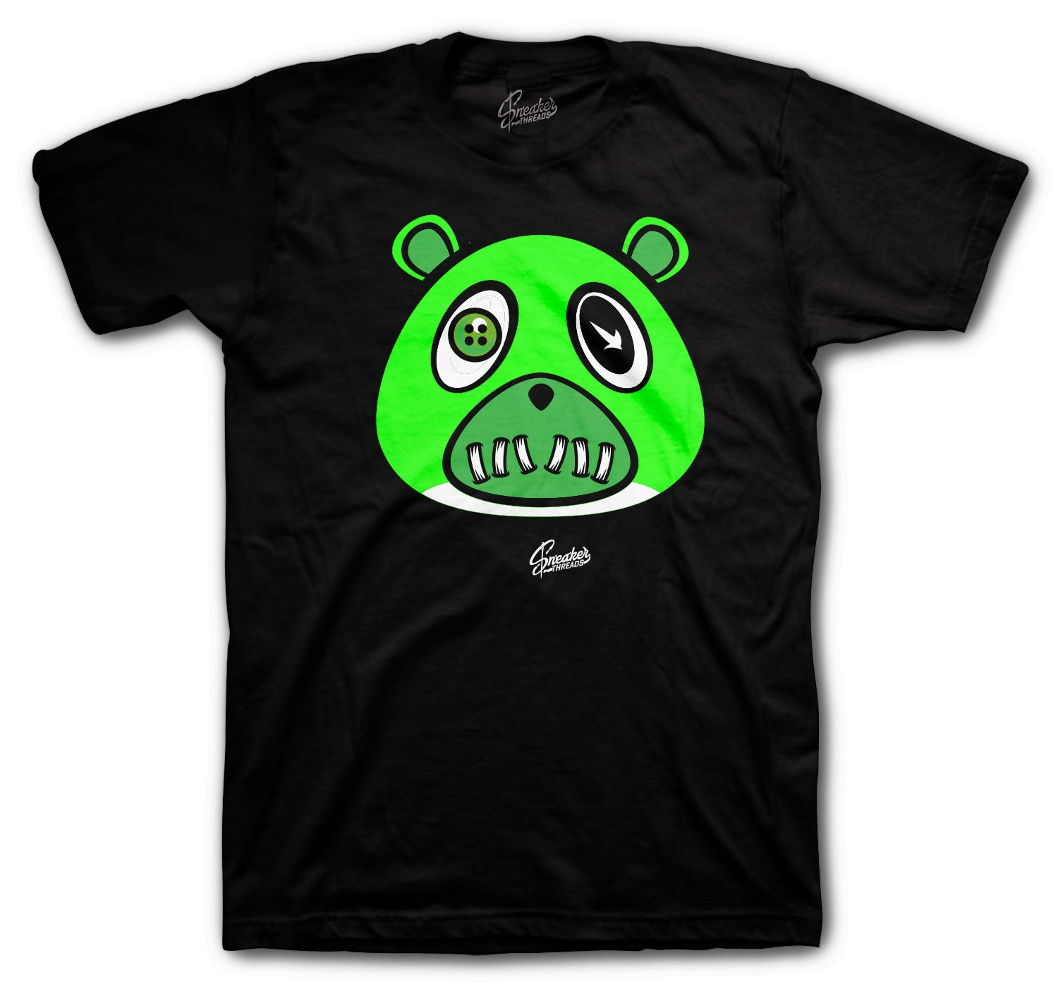 Jordan 1 Zen Green ST Bear Shirt