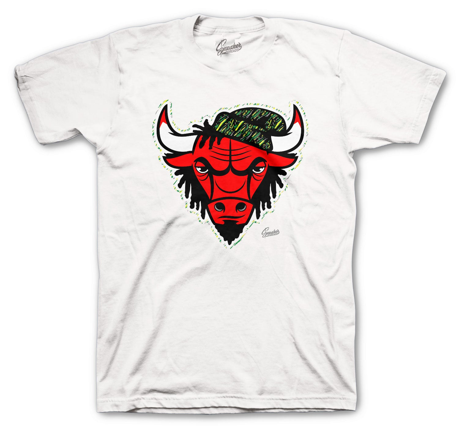 Mens shirt collection designed to match the Jordan 4 Rasta sneaker collection