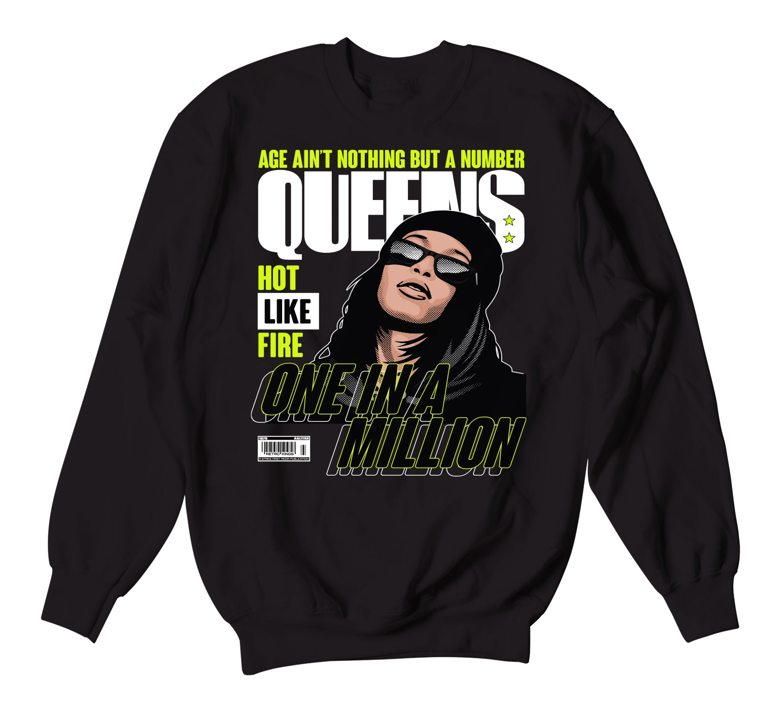 Foamposite Volt Queens Sweater