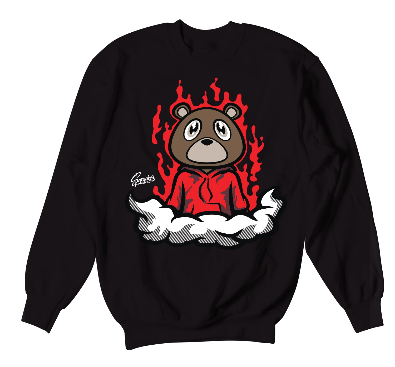 Yeezy 350 Bred Fresh Bear Sweater