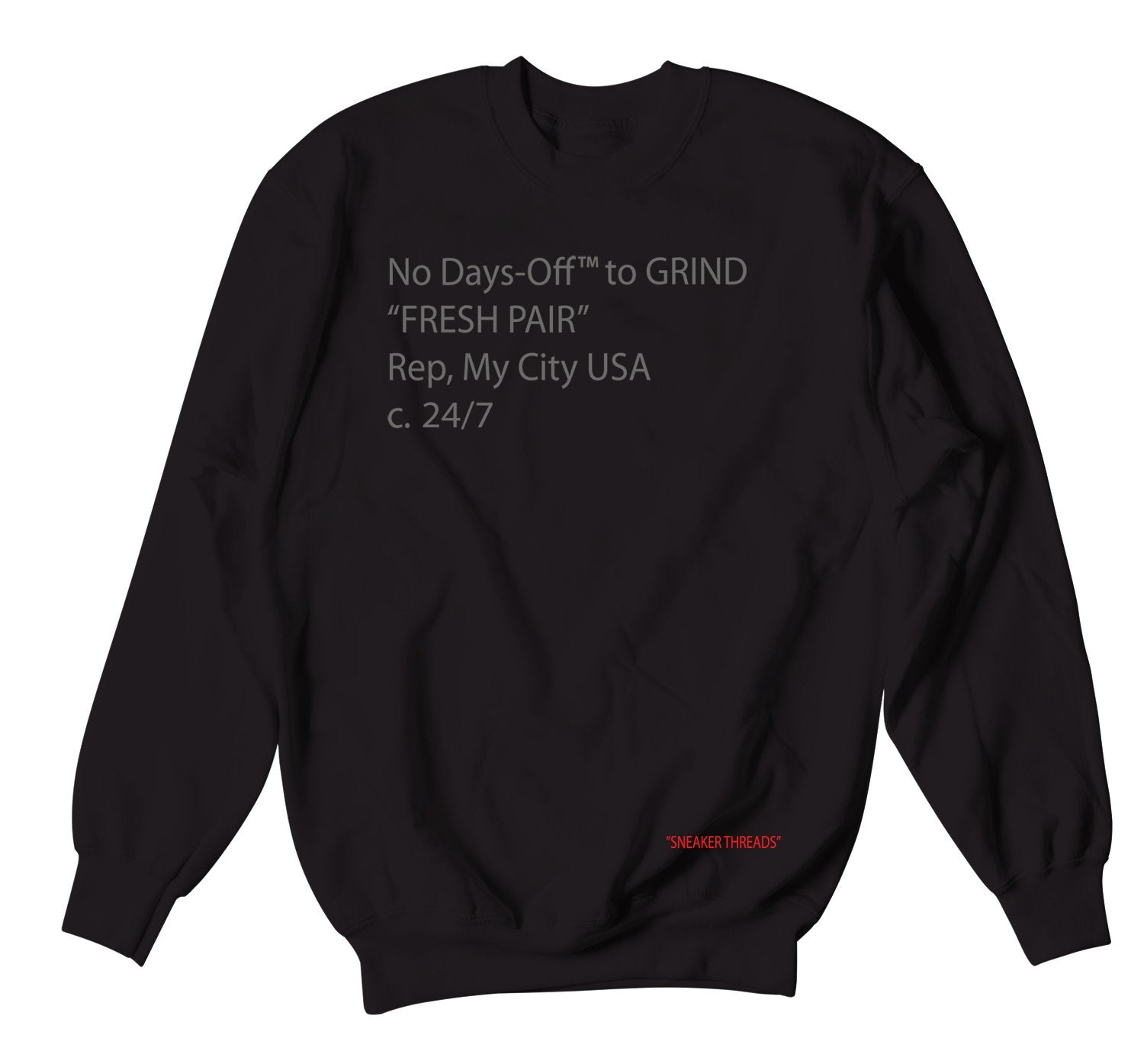 crewnecks designed to match the Jordan 14 black ferrari shoe collection