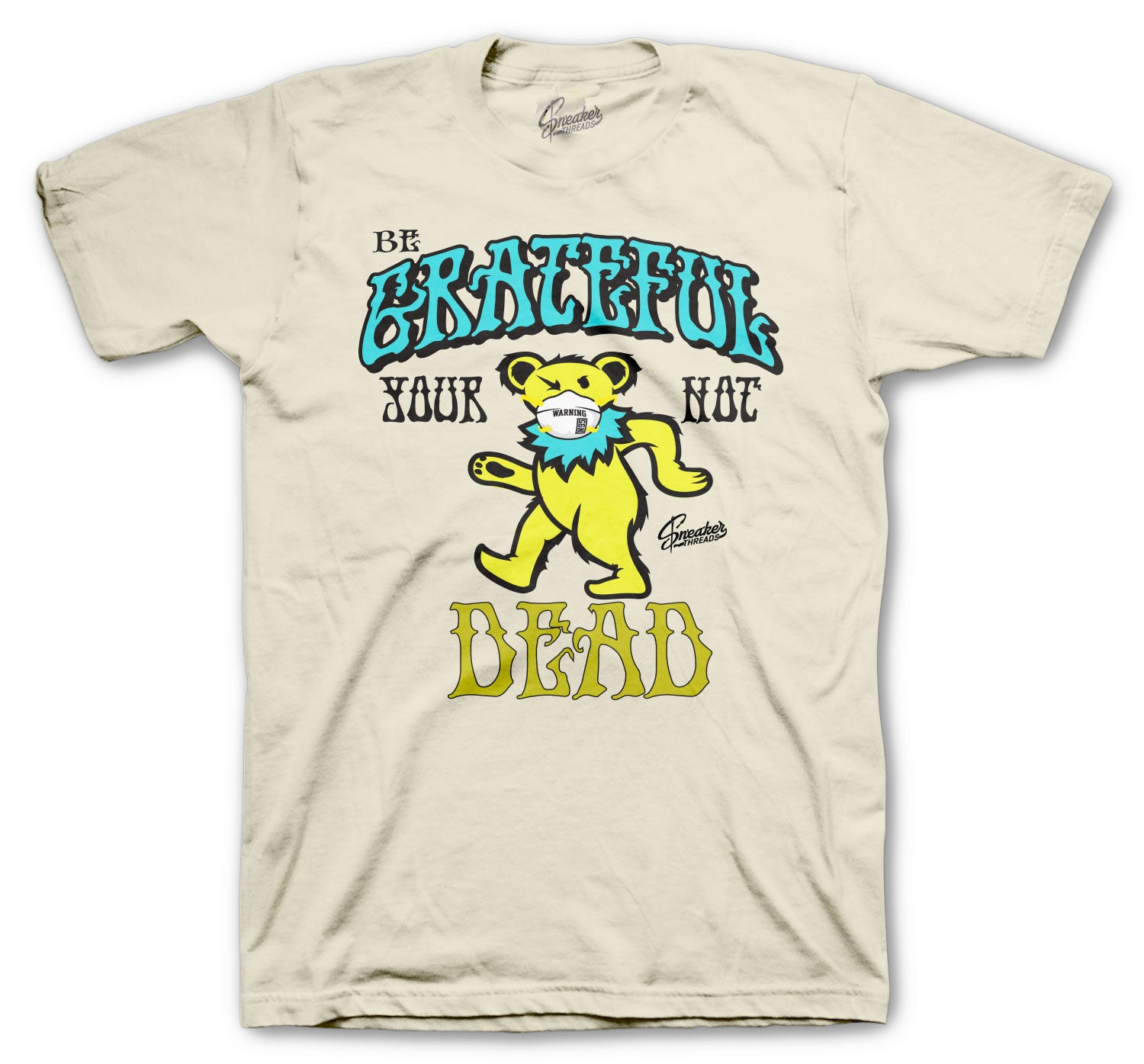 Dunk SB Grateful Alive Shirt - Sail/Yellow