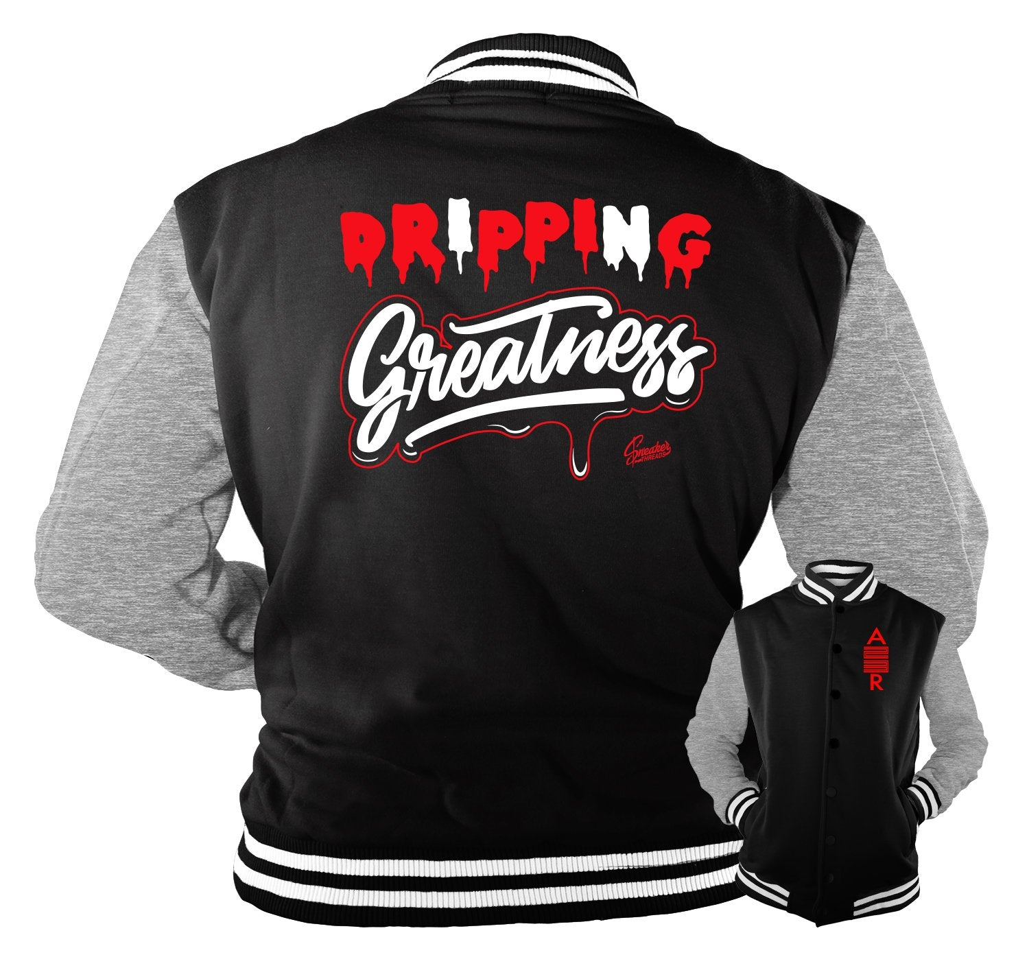 jackets designed to match the Jordan 11 bred shoe collection