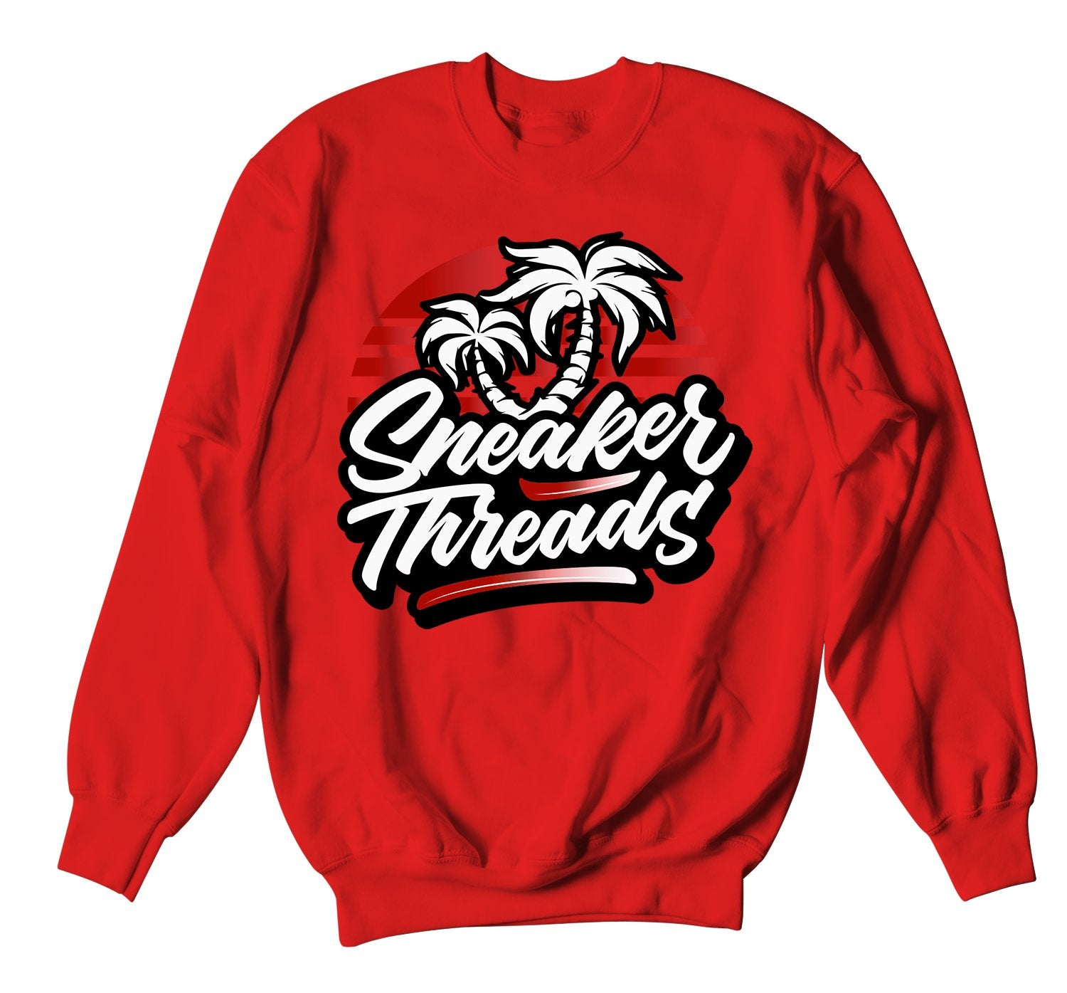 Crewnecks designed to match the red carpet 17s